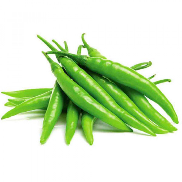 JK Fresh Chilli - Green Long/সবুজ কাচা লাঙ্কা 100g