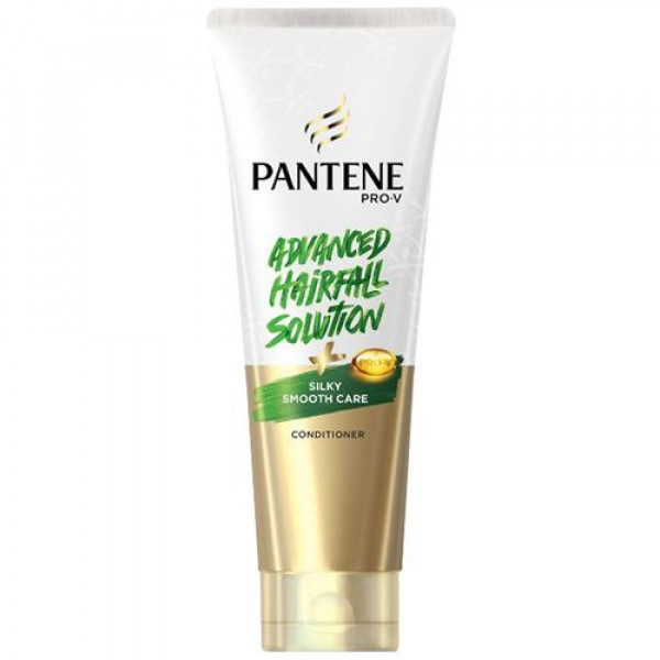 Pantene Advanced Hair Fall Solution Conditioner - Silky Smooth Care, 180 ml Bottle