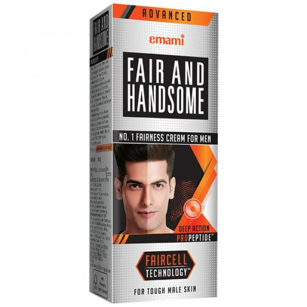 FAIR AND HANDSOME Fairness Cream - Deep Action, For Men, 15 g