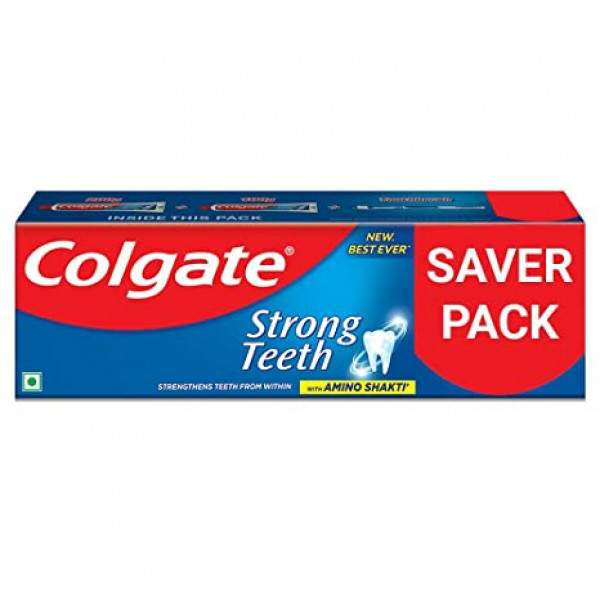 Colgate Strong Teeth Anticavity Toothpaste With Amino Shakti, 200 g