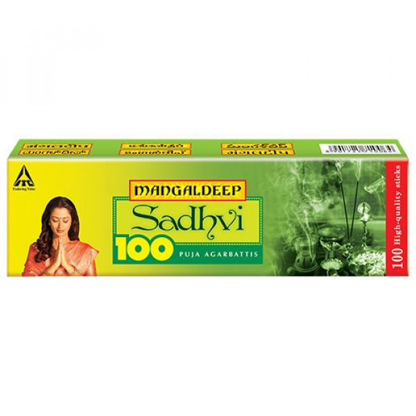 Mangaldeep Sadhvi Agarbatti Sticks, 100 pcs
