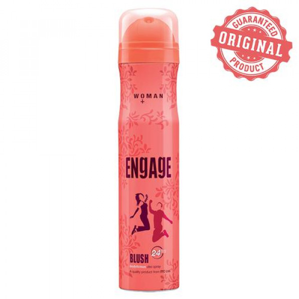 Engage Bodylicious Deodorant Spray - Blush (For Women), 150 ml