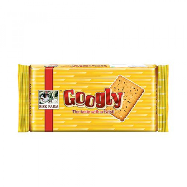 Bisk Farm Biscuits - Googly, 250g Pouch