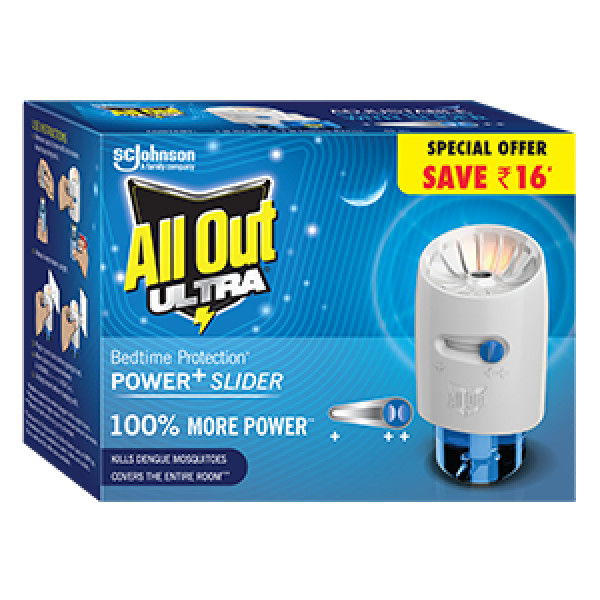 All Out Ultra Power+ Slider, (Machine +  Oil)