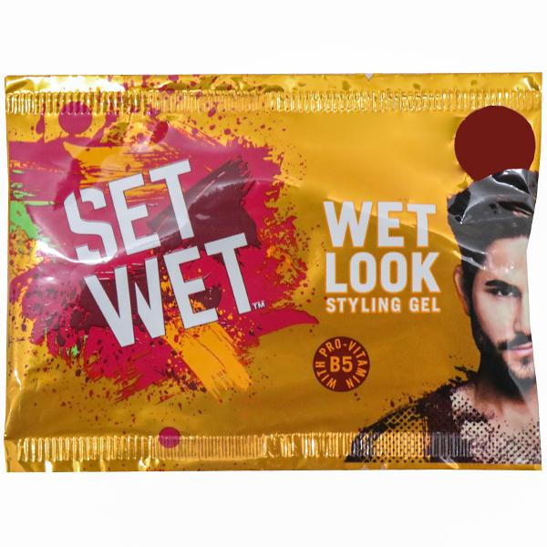 Set Wet _Wet Look  Styling  Hair Gel_with Pro Vitamin B5