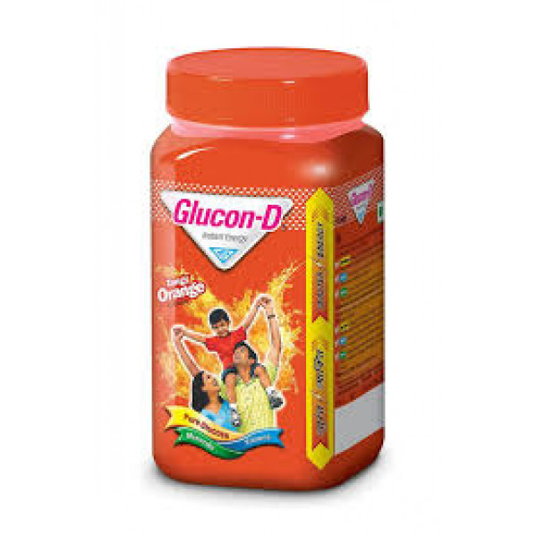 Glucon-D Instant Energy Tangy Orange, 400 gm