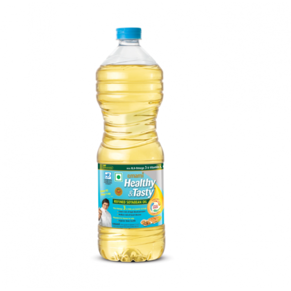Emami Healthy & Tasty Soyabean Oil 500ML Bottle