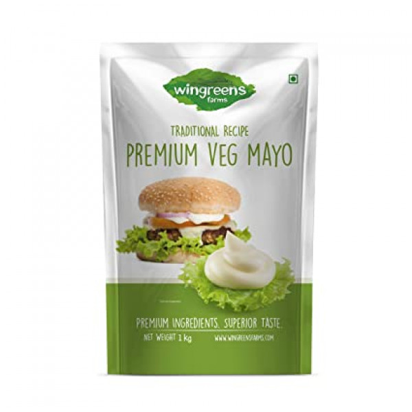 Wingreens Farms Premium Veg Mayo (450g)
