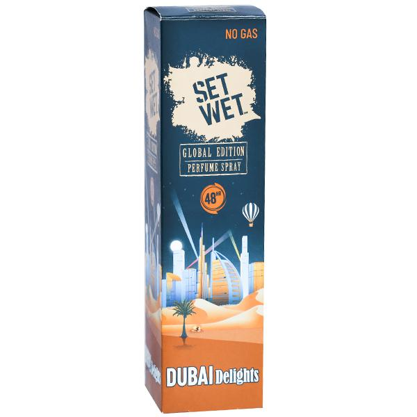 Set Wet Global Edition Perfume Spray Dubai Delights 120 ml