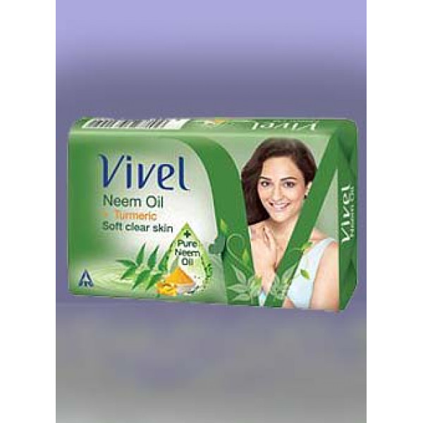 Vivel Pure Neem Oil Soap 50g