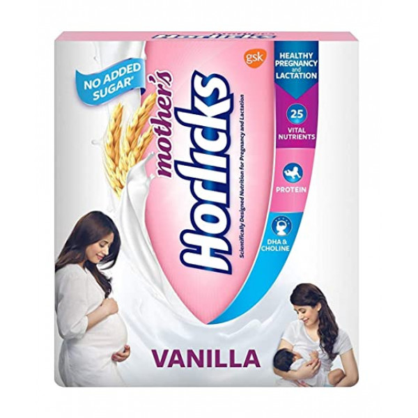 Mother's Horlicks Health and Nutrition Drink Refill Pack - 500 g  (vanilla)
