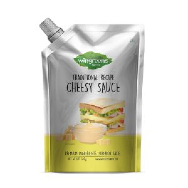 Wingreens Farms -Cheesy Sauce (Pack of 1-450g)