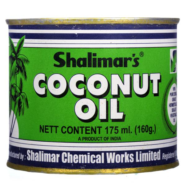 Shalimar'S Coconut (Tin) Oil 175 ml